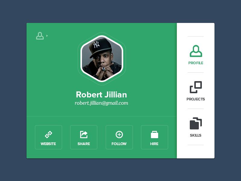 User Details user ui user interface ux metro metro style interface skills designer designers folder