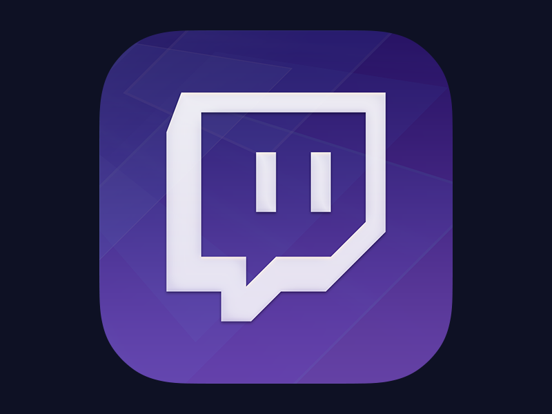 Twitch Icon Redesign by Ionut Zamfir on Dribbble