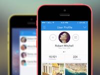 iOS 7 app template