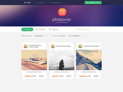 Photovisi redesign
