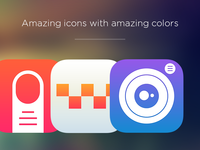 Cool icon templates
