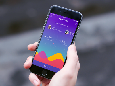 Overview app ios ios app iphone app fitness health tracking training workout overview ui ux