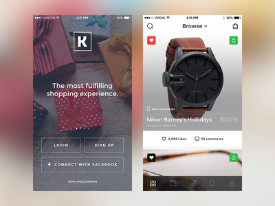 Ecommerce App app ios ios app iphone app sketch ecommerce shop mobile ui user interface