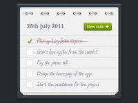 Tasks application