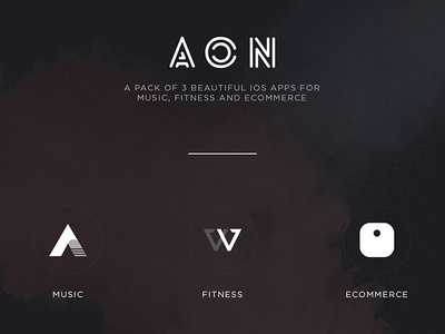 AON - a pack of 3 iOS apps