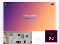 Landing Page (Adobe Experience Design)