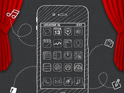 Iphone sketch