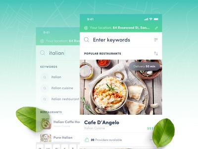 Food Delivery App delivery food app food delivery app food delivery food sketch iphone app iphone clean ios app user interface ui