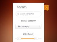 Search Widget - Cibando Website
