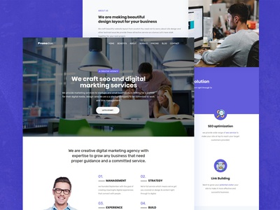 Promodise - SEO & Digital Marketing Agency html Theme