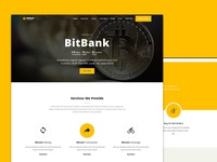 Bitbank - crypto currency template