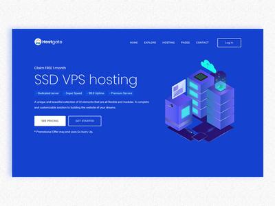 Hostgate -hosting sass template