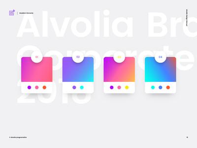 Alvolia — Gradient Elements