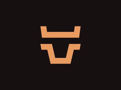 JUMP-STREET — Logo illustration design logo ui vector branding typography ux icon app web animation flat website minimal jump street bull corporate identity burger icons