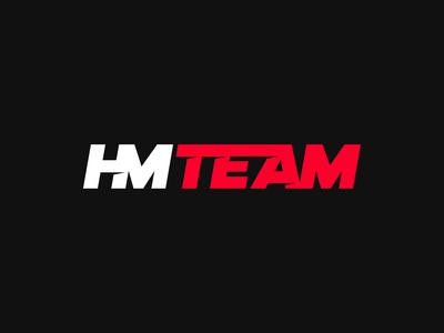 HMTEAM — Logo construction blank lines automotive hmteam startup design logo marks logo grid logo design logo animation identity gradient design grid corporate identity branding studio branding agency branding brand identity animation