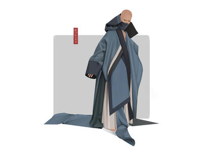 Shimur apocalypse fashion illustration illustrator logo character design character shimur illustration