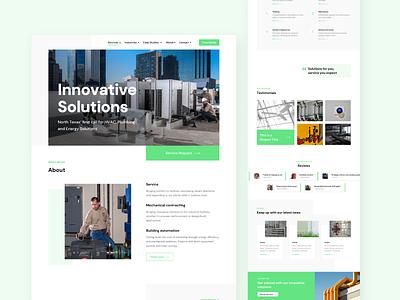 Business website concept webui business website landing page webdesign uidesign ui design dailyui
