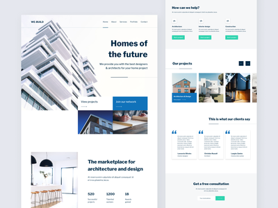 Business Landing page Template template webtemplate business website landing page webdesign webui uidesign ui design