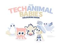 Techanimalbabies Colouringbook