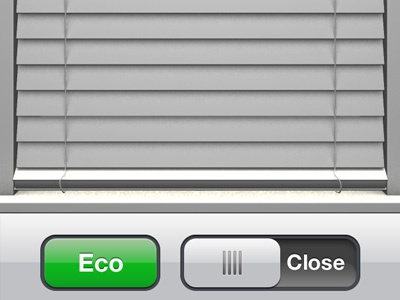 Lutron controller iOS app - shades controller lutron ui ux iphone app home automation remote