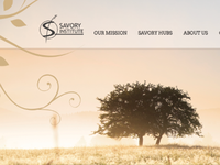 Savory Institute Website Preview