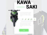 Kawasaki motos app