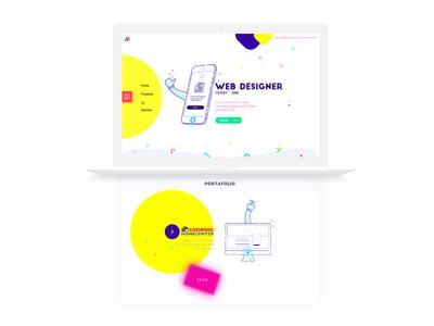 Web personal concept