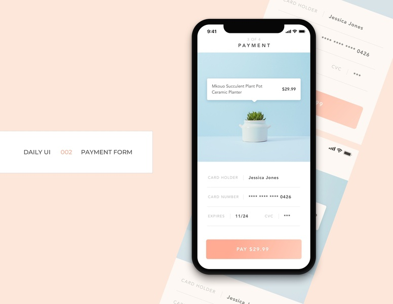 Daily UI 002 - Payment Form
