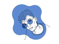 Self Portrait - Illustration