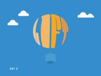 Daily Logo Challenge - Hot Air Balloon (2/50)