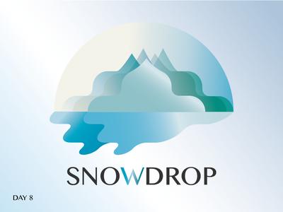 Daily Logo Challenge - Ski Mountain Logo mountain logo