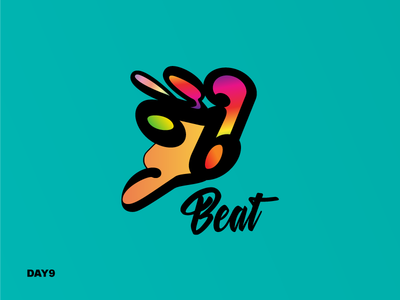 Daily Logo Challenge #9 icon logo music