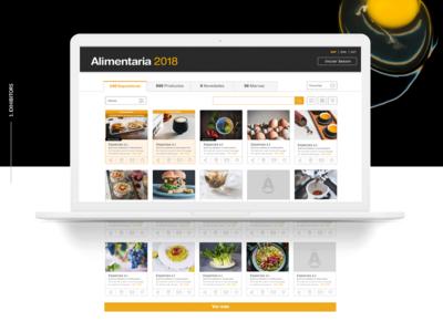 e-catalogue - Website