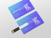 Krypt (USB wallet logo)