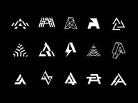 A letter monograms (DJ Alias logo)