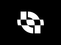 TF monogram & eye