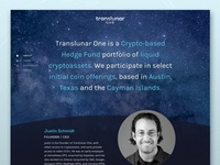 Translunar One Website