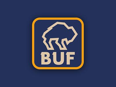 Buffalo Patch retro patch 716 new york buffalo