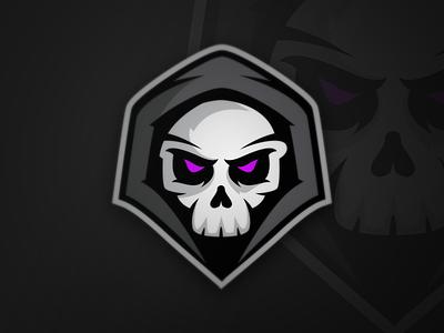Phantoms Logo (For Sale) sports branding skull phantom games video sports logo mascot sale for esports
