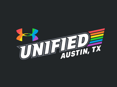 UA Unified sports branding unified texas austin parade pride under armour
