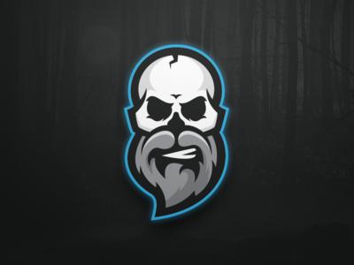 Bearded Skull Logo
