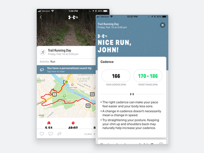 Connected Footwear Coaching science data cadence coach sport run