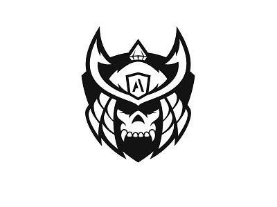 Samurai Logo ronin warrior japan samurai fitness gym logo sports mascot