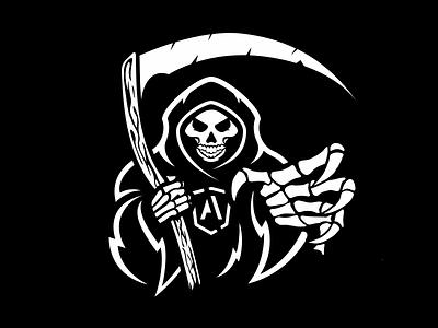 Atomic Reaper race death reaper skull athlete atomic gym texas austin