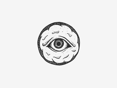 National Donut Day ipad illustration frosting eye seeing all day donut national