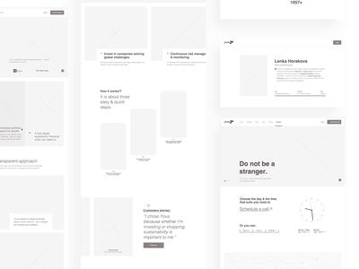 Yova Web UX Design better world swiss nature branding environment web design yova navigation scroll interaction sitemap highfidelity wireframes ux design ux