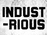 Industrious - Typeface