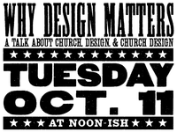 Church, Design, & Church Design