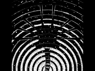 Alien - Illustration Study bw vintage texture movie illustration