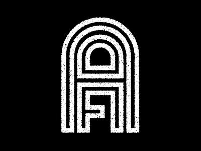 AFA - Logo Treatment monogram typography type wordmark logotype logo
